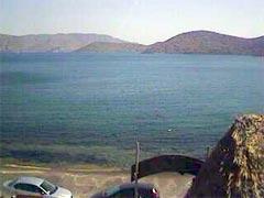 Elounda webcam - Elounda Sunrise Apartments webcam, Crete, Lasithi